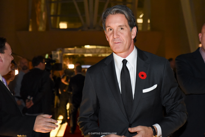 Nov. 9, 2015 (Toronto, ON) - Toronto Maple Leafs president Brendan Shanahan on the red carpet to the Hockey Hall of Fame induction ceremony at Brookfield Place, downtown Toronto.