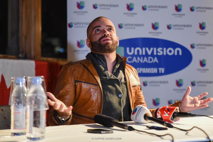 Nov. 21, 2015 (Toronto, ON) -  Miguel Ignacio Mendoza Donatti of Chino & Nacho during a press conference at Toronto's Sound Academy.
