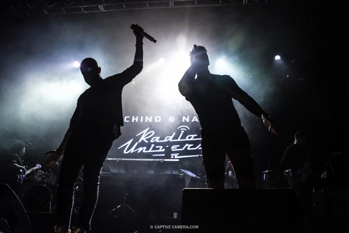 Nov. 21, 2015 (Toronto, ON) - Venezuelan duo Chino & Nacho during their performance at Sound Academy.