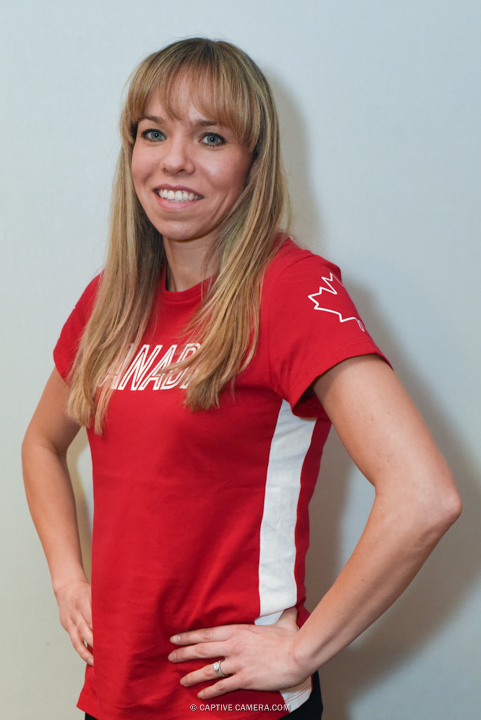 Dec. 10, 2015 (Toronto, ON) - Karen Cockburn at the Team Canada Olympic media summit.  Cockburn will compete in Gymnastics at the Rio 2016 Summer Olympics.