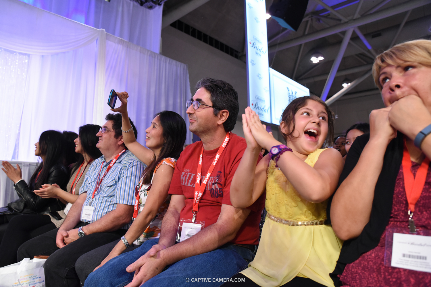 AUDIENCE REACTIONS AT CANADA'S BRIDAL SHOW