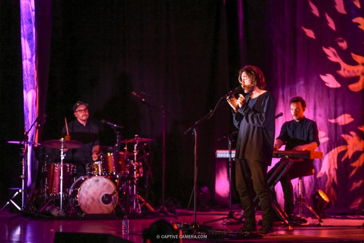 Matt Corby performing at Massey Hall in Toronto on June 18, 2016