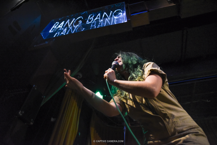 Phoebe Ryan performing at The Drake Underground in Toronto on July 8, 2016 (Photo: Jaime Espinoza/Aesthetic Magazine)