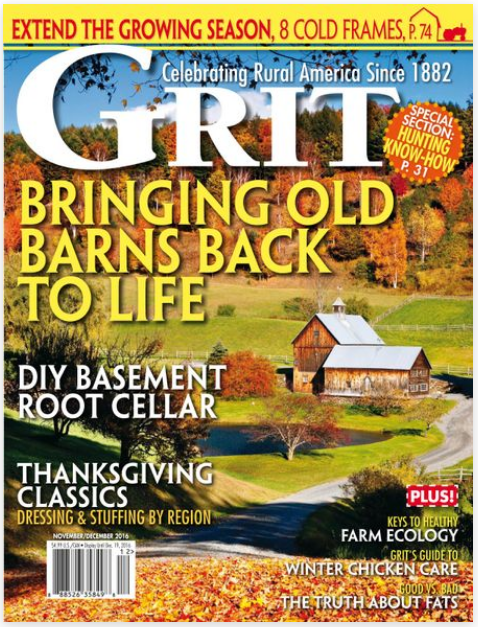 Harvesting and Eating Acorns - This article appeared in the November / December issue of GRIT Magazine.