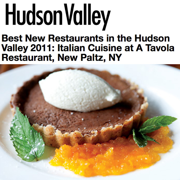 Hudson Valley Magazine 2011 A Tavola