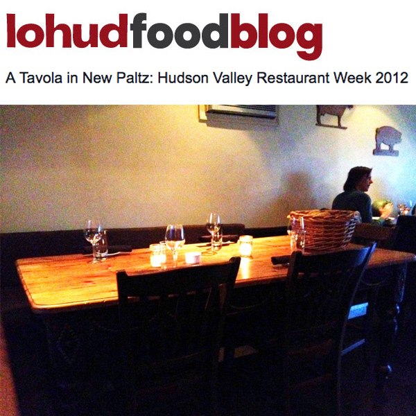 LoHud Food Blog A Tavola