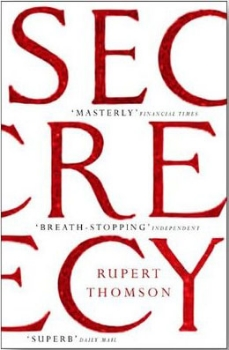 Secrecy   jacket design by Anna Green