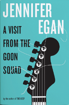 A Visit from The Goon Squad   jacket design by Barbara de Wilde