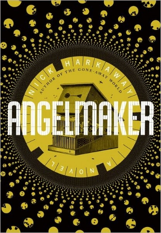 Angelmaker  Jacket design by Jason Booher