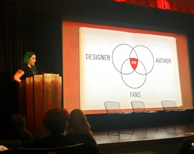 In an ever more opinionated world, designers get more feedback then ever before.Lauren touches on the collaborative aspects of art directing in a complex media landscape, where your audience is comparing your work to TV, film, and even their favorite video games.