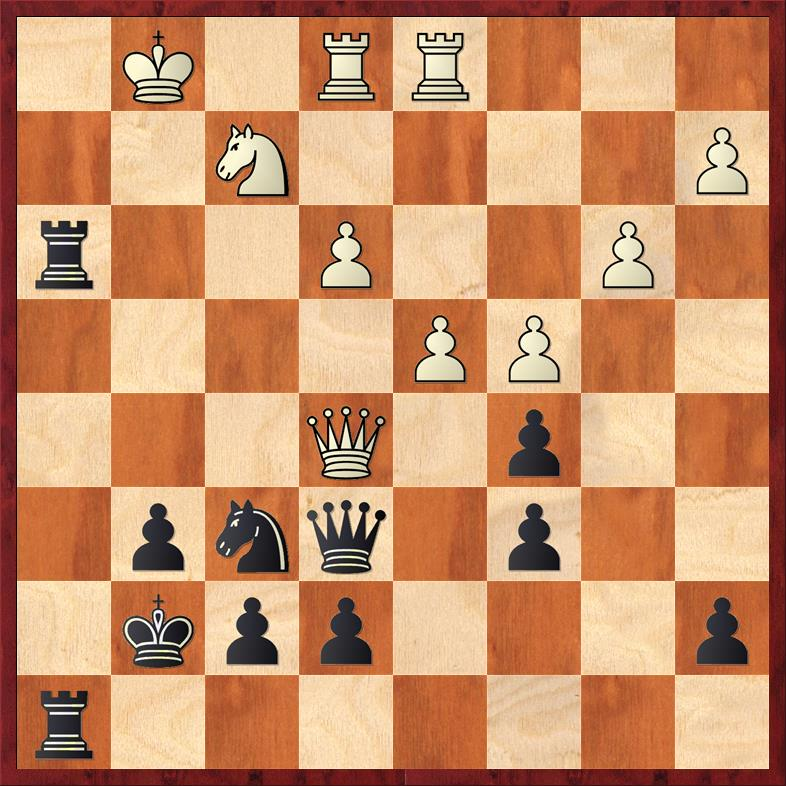 Position after 28. Rxh3