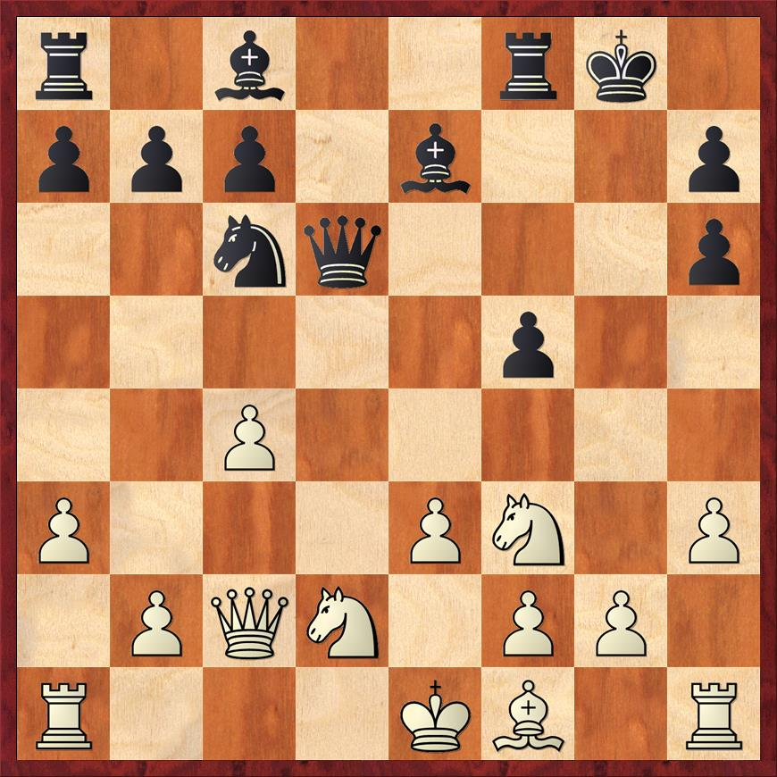 Position after 12. ... f5