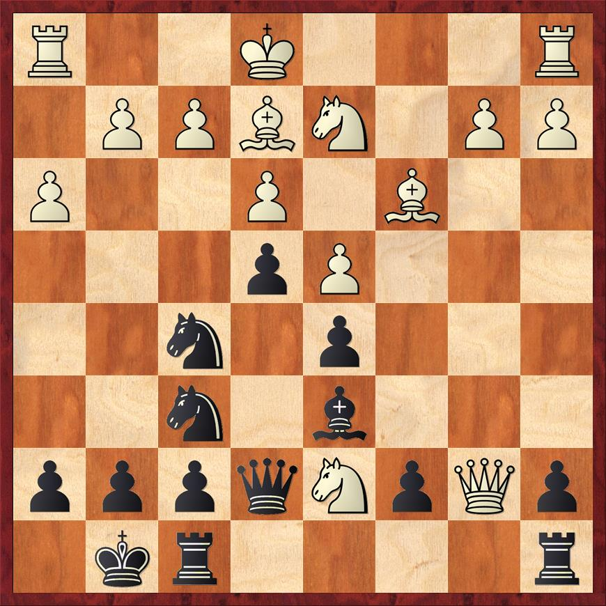 Position after 17. Nxd7