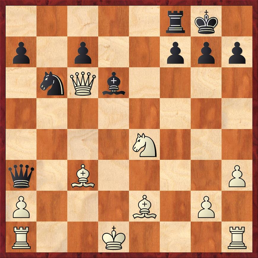 Position after 25. ... Qa3