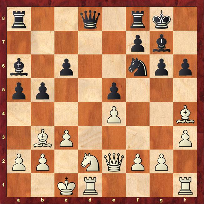 Position after 14...Ba6