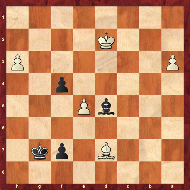 Position after 40.bxa3