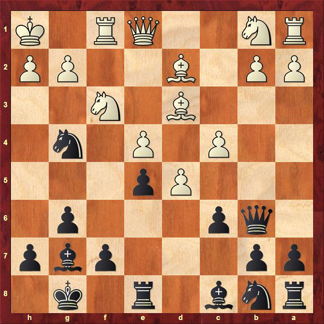 Position after 14.Qe1