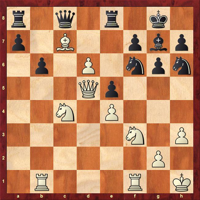 Position after 31...Nf6