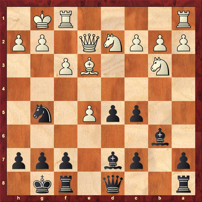 Position after 14.N4b3