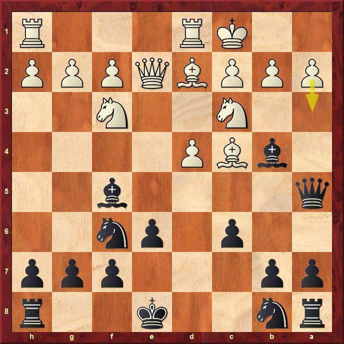 Position after sideline 9.O-O-O