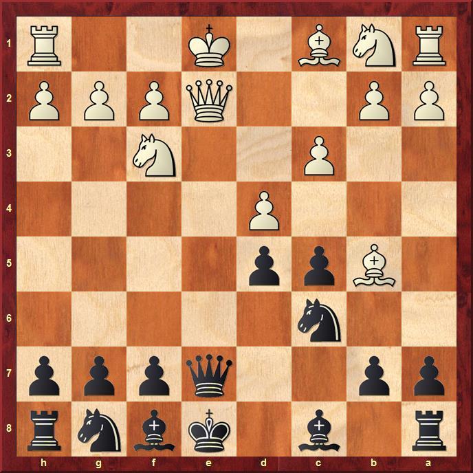 Position after sideline 7.d4