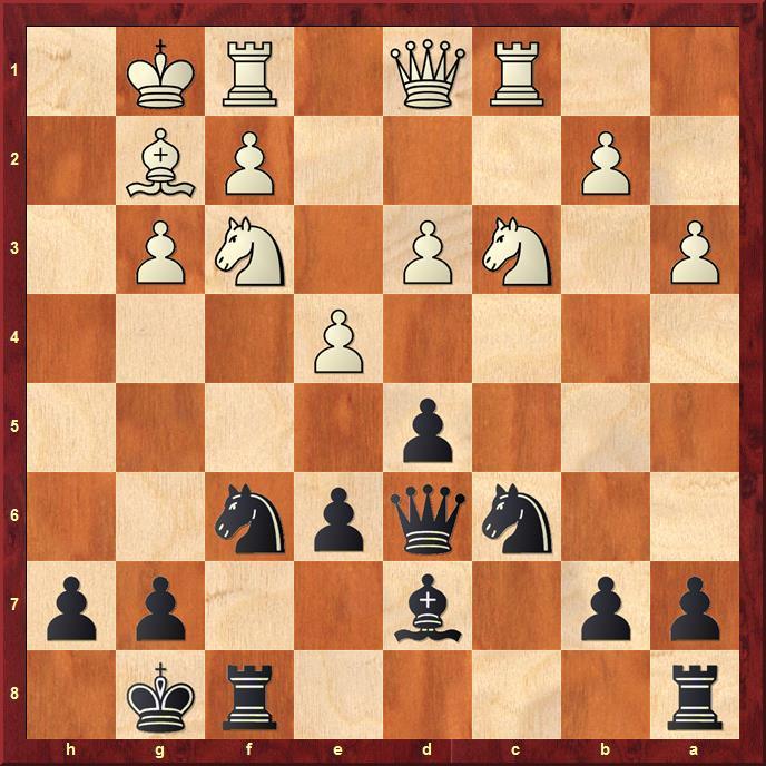 Position after sideline 14.a3
