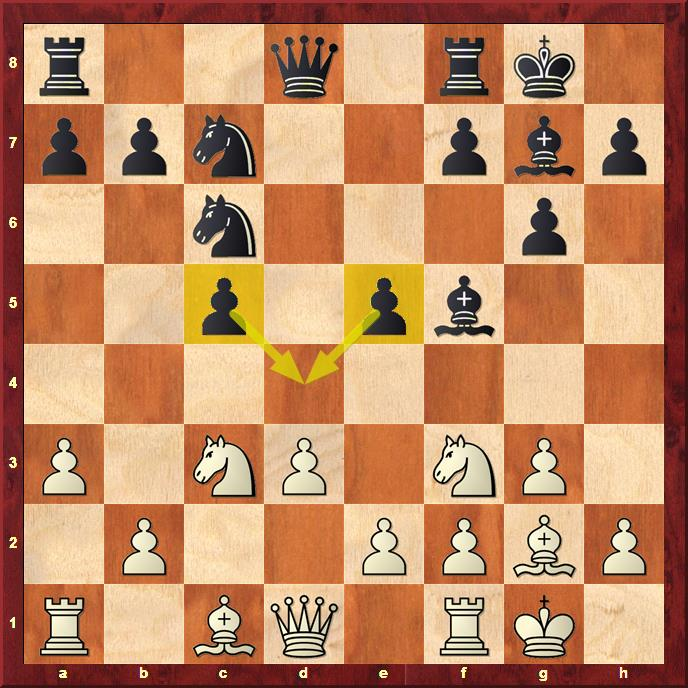 Position after 11...e5