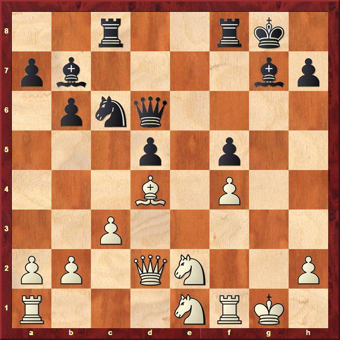 Position after 19...Qd6