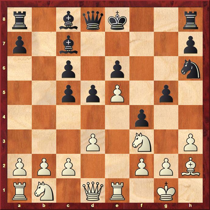 Position after sideline 13...Nh6