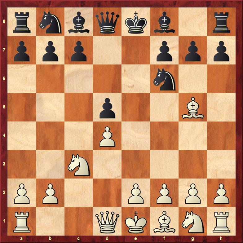 Position after 5.Bg5