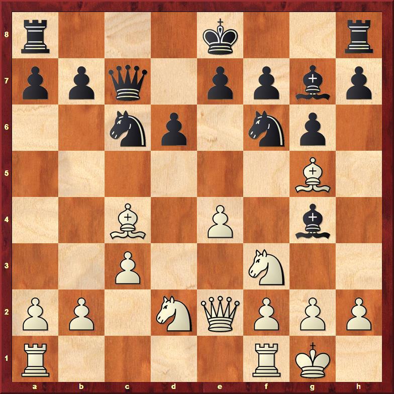 Position after 10...Bg4