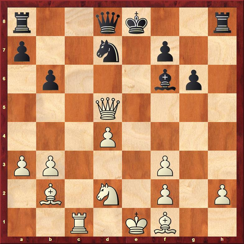 Position after sideline 18.Qxd5