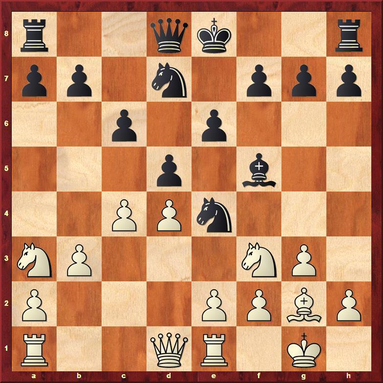 Position after 10.Nxa3