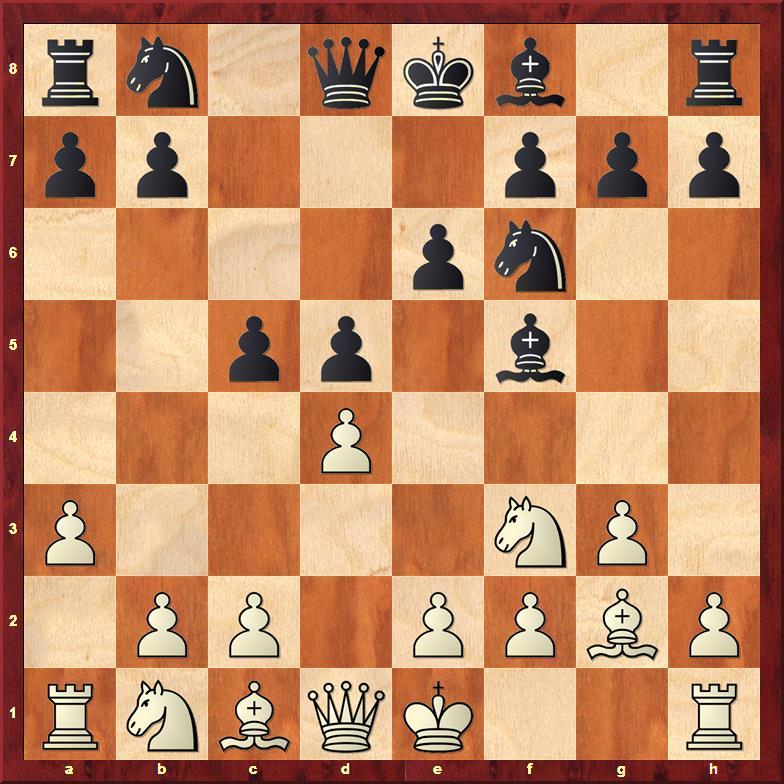 Position after sideline 5...c5