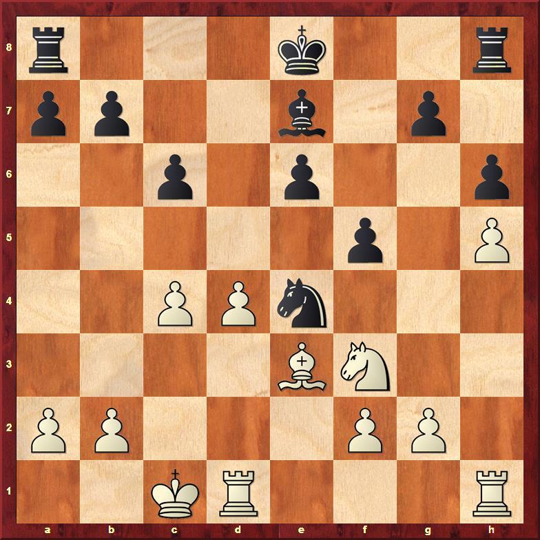 Position after sideline 18...f5
