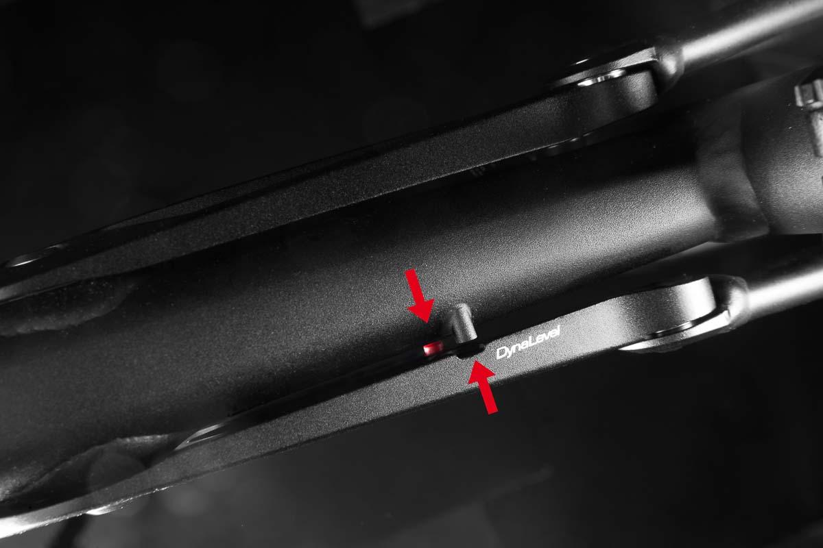Liteville 301 MK15 - Dynalevel Sagindicator
