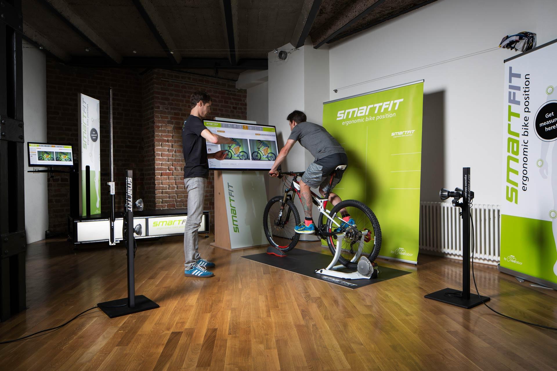 Neu in der Radstation Bikefittery - Bikefitting mit dem Smartfit Q5 System für höchste Ansprüche