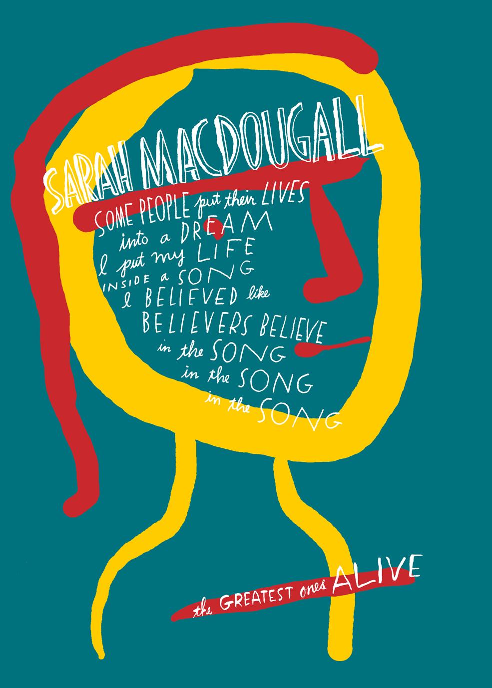 Sarah MacDougall  T-shirt Design