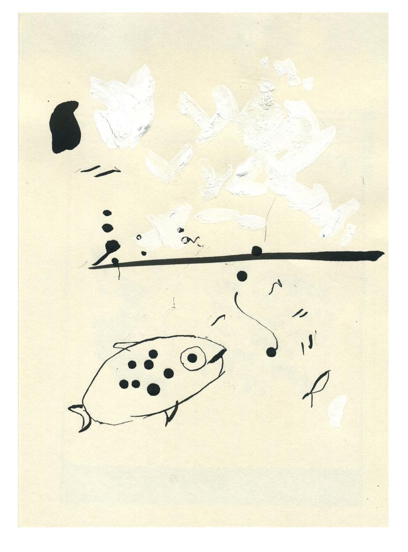 Ink Blotter Fish