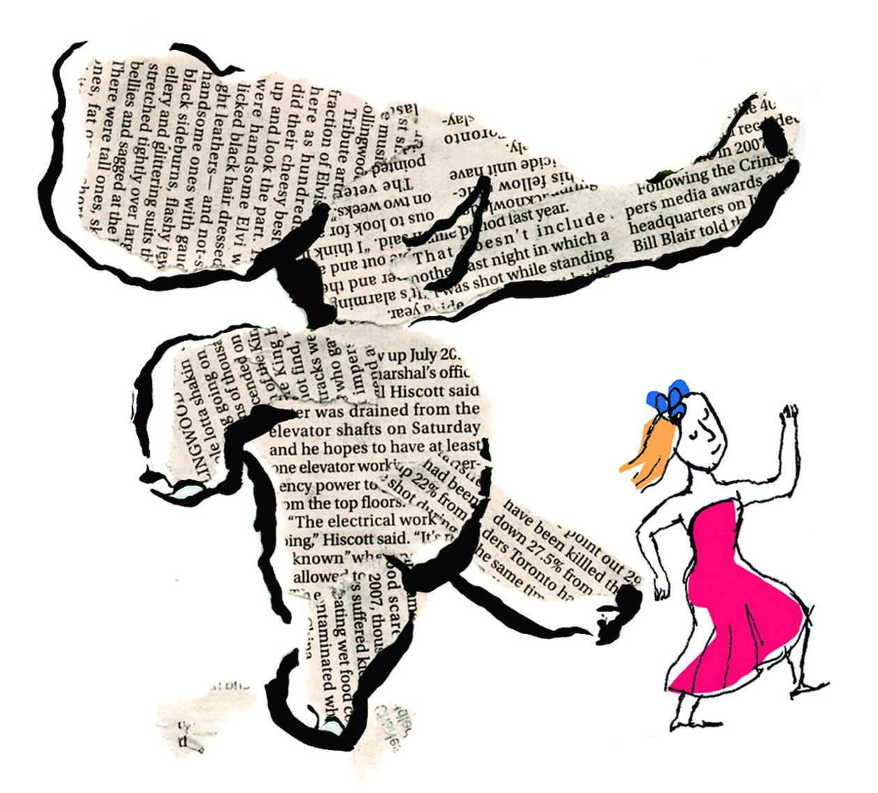 Teaching Elephants to Dance  Detail, SND Magazine