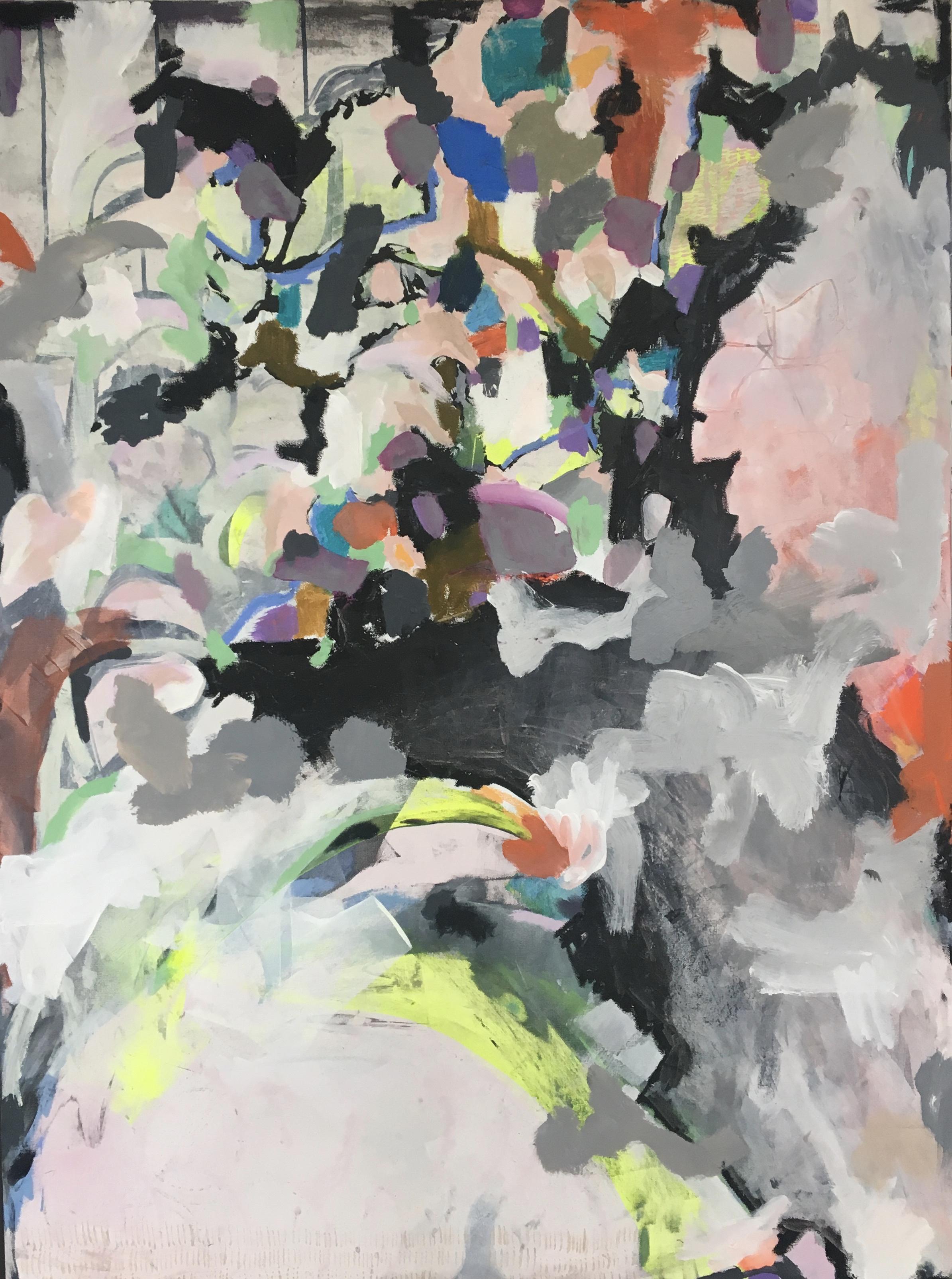 """""""Flux""""  36x48"""" Mixed Media on Canvas"""