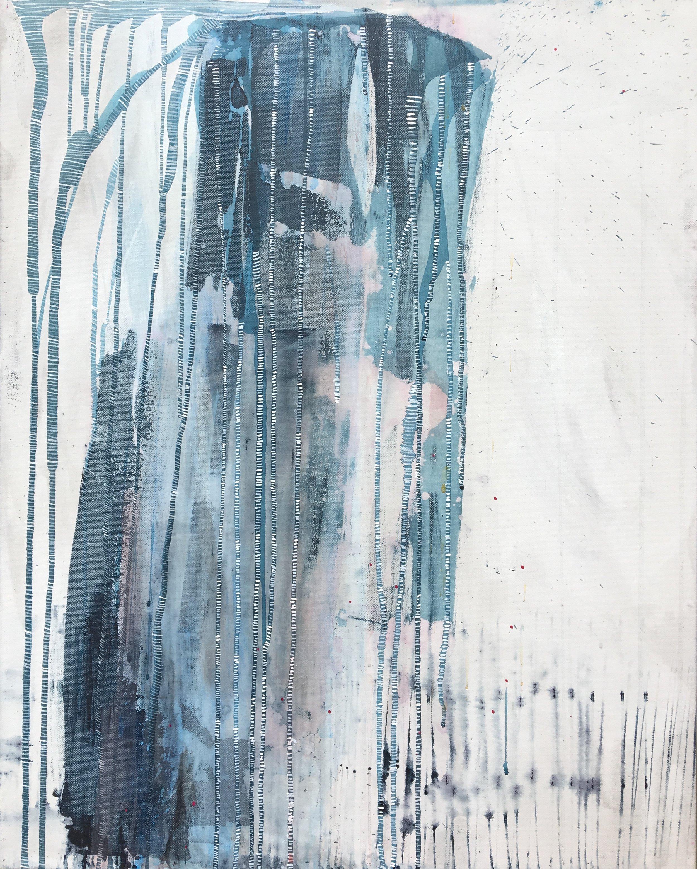 """Ritual""  (SOLD)   20x30"" Acrylic on Canvas"