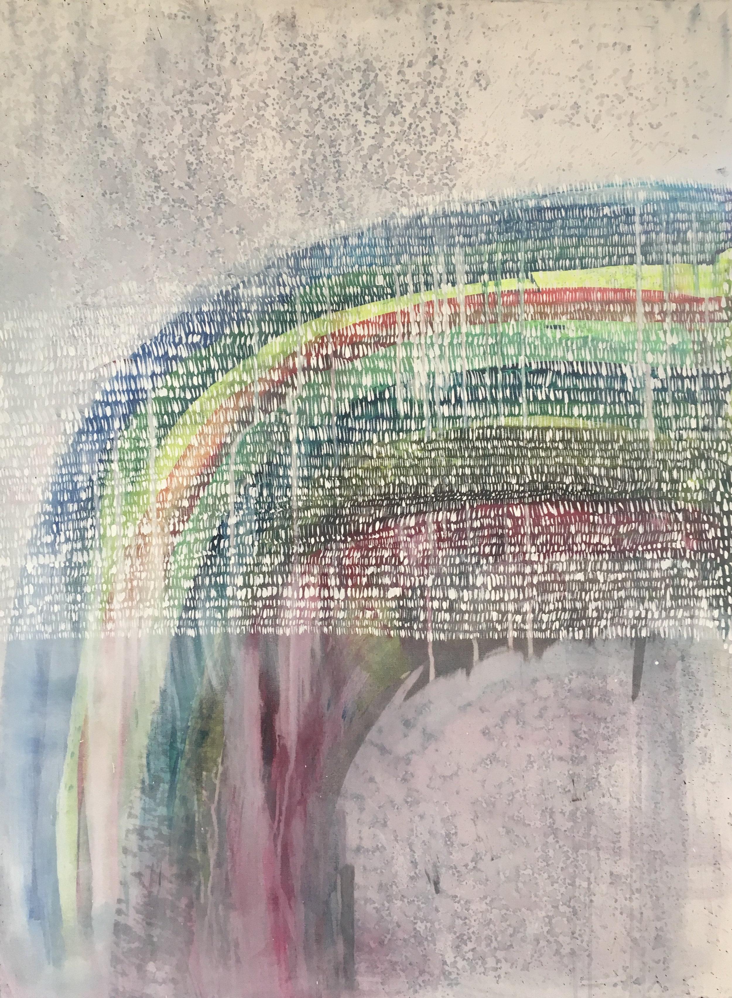 """""""Sacred Mundane Moments""""  SOLD   36x48"""" Acrylic on Canvas"""