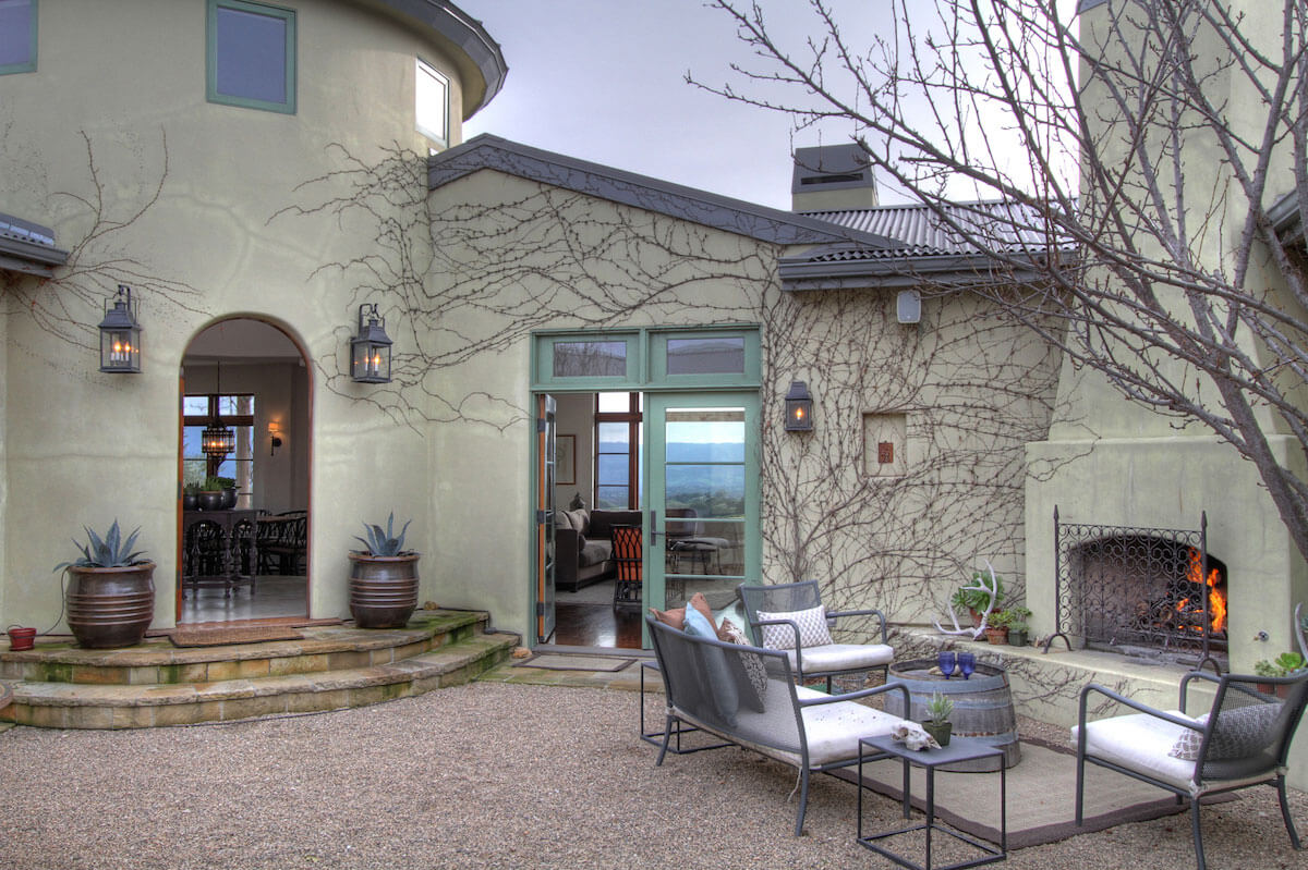 Sleeps 10 - Rancho Maroma in Santa Ynez has some of the best views