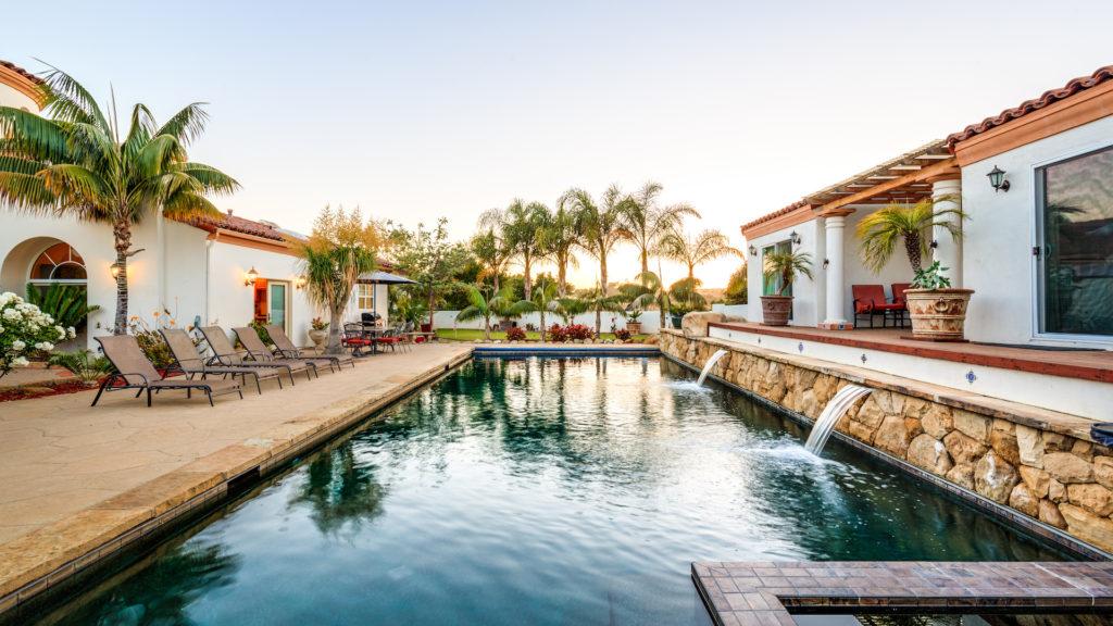 Sleeps 30 - Santa Barbara estate with 10 bedrooms and great views