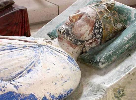 Gisant de Richard Cœur de Lion à Fontevraud