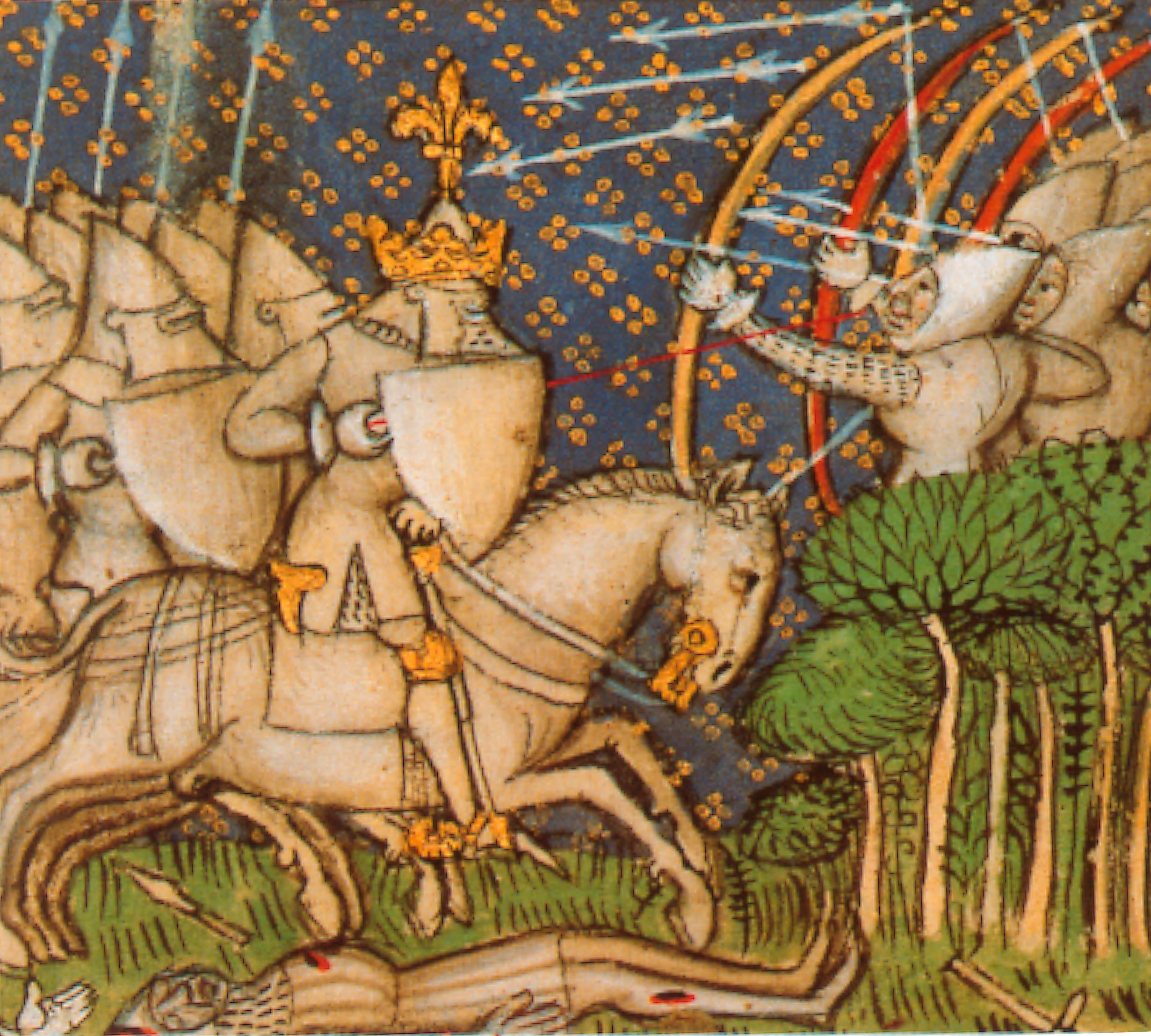 La mort de Richard Cœur de Lion