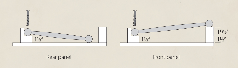 CrossSection_Drilling Jig