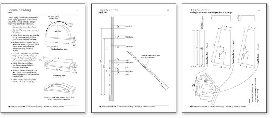 Side Chair Manual Jigs