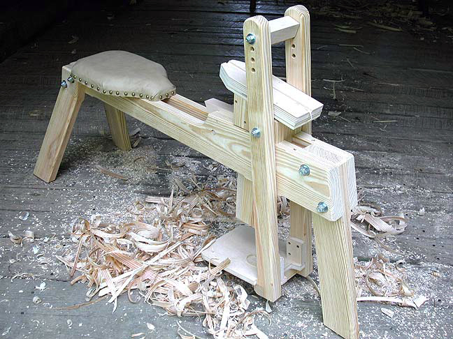 The Country Workshops shaving mule